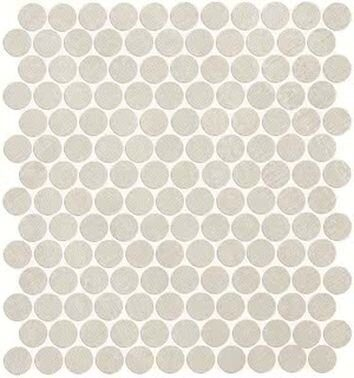 Color Now Perla Round Mosaico 29.5*32.5 cm